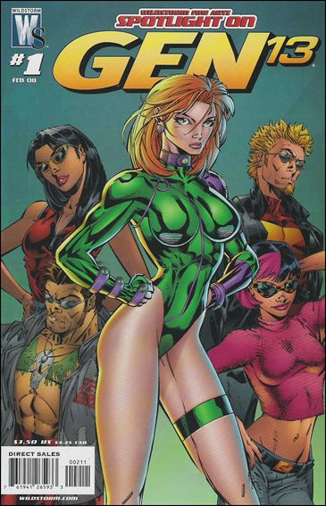 WildStorm Fine Arts: Spotlight on Gen13 1-A by WildStorm