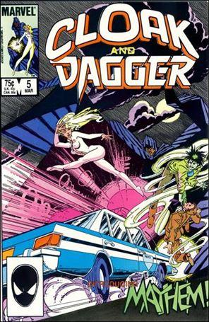 Cloak and Dagger (1985) 5-A