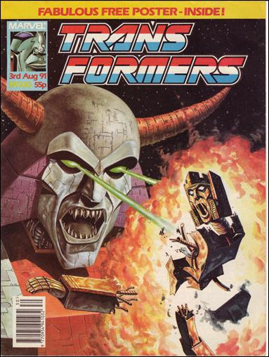 Transformers (UK) 320-A by Marvel UK