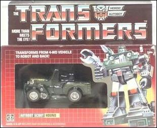 Transformers: More Than Meets the Eye (Generation 1) Hound (Autobot Scout) by Hasbro
