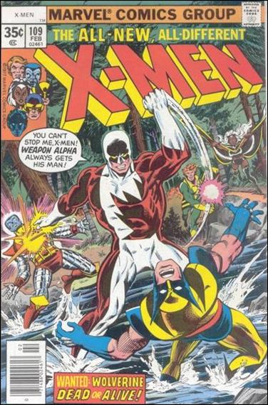 X-Men (1963) 109-A by Marvel