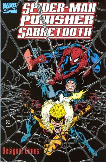Spider-Man, Punisher, Sabretooth: Designer Genes 1-A by Marvel