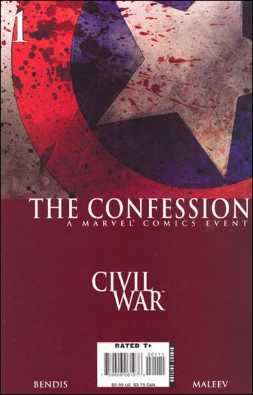 Civil War: The Confession 1-A by Marvel