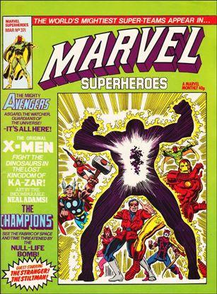 Marvel Superheroes (UK) 371-A