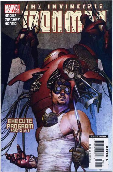 Invincible Iron Man (2005) 8-A by Marvel