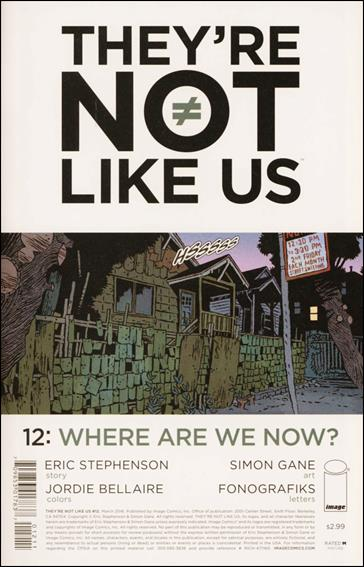 They're Not Like Us 12-A by Image