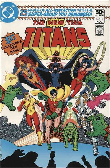 New Teen Titans (1980) 1-A by DC