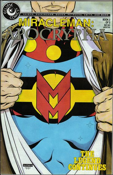 Miracleman: Apocrypha 2-A by Eclipse