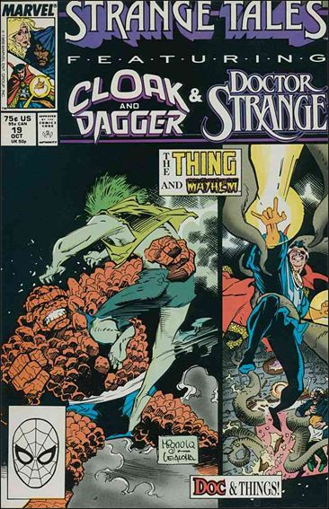 Strange Tales (1987) 19-A by Marvel