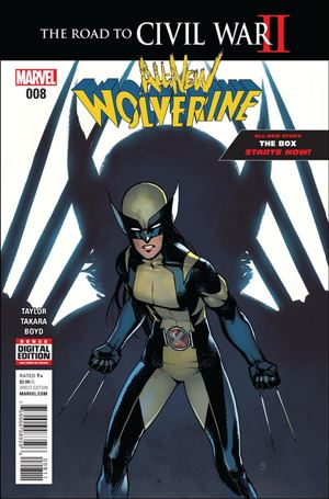 All-New Wolverine  8-A