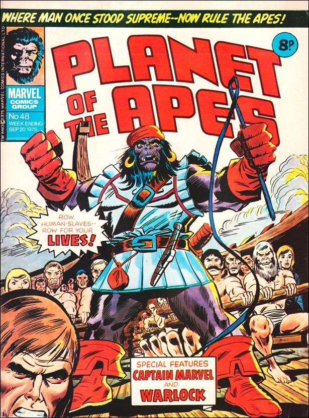 Planet of the Apes (UK) (1974) 48-A by Marvel UK