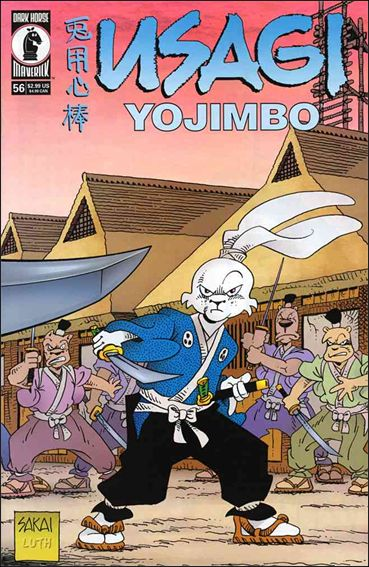 Usagi Yojimbo (1996) 56-A by Dark Horse