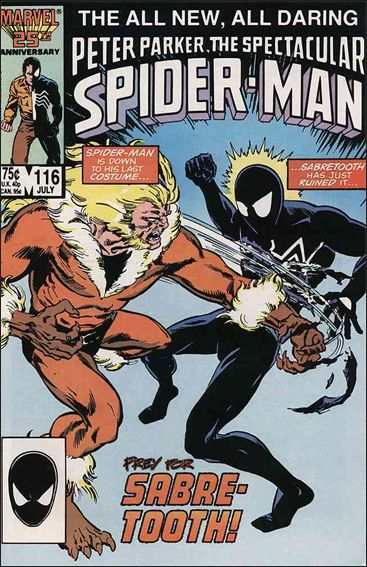 Spectacular Spider-Man (1976) 116-A by Marvel