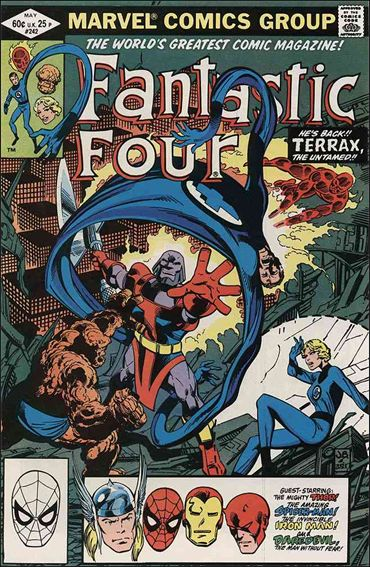 Fantastic Four (1961) 242-A by Marvel