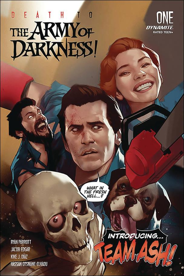 Death to the Army of Darkness 1-A by Dynamite Entertainment