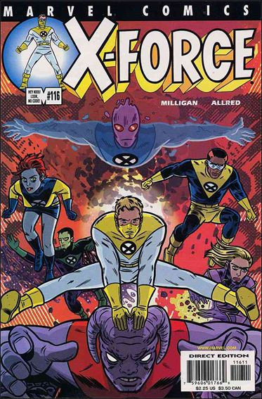 X-Force (1991) 116-A by Marvel