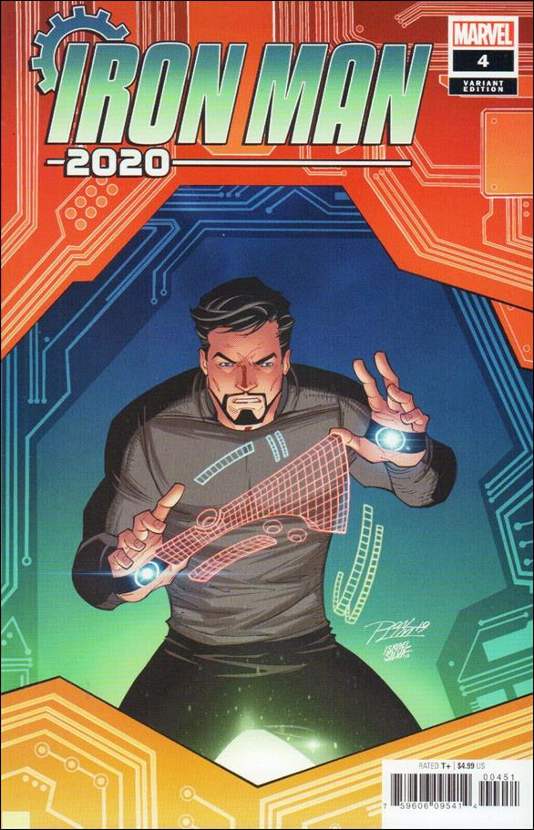 Iron Man 2020 (2020) 4-D by Marvel