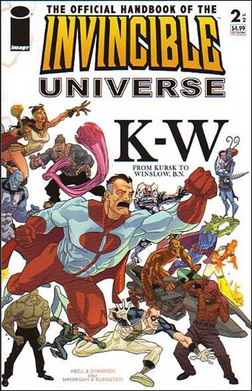 Official Handbook of the Invincible Universe 2-A by Image