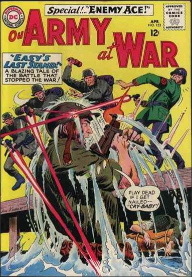 Our Army At War (1952) 153-A by DC