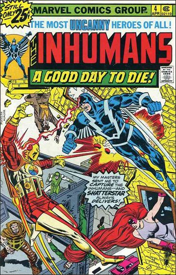 Inhumans (1975) 4-A by Marvel