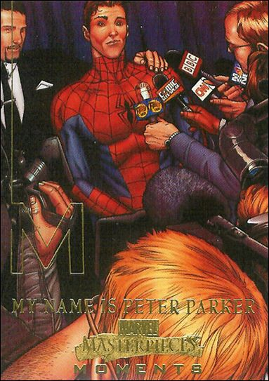 2008 Marvel Masterpieces: Series 3 (Marvel Moments Subset) MM7-A by Fleer