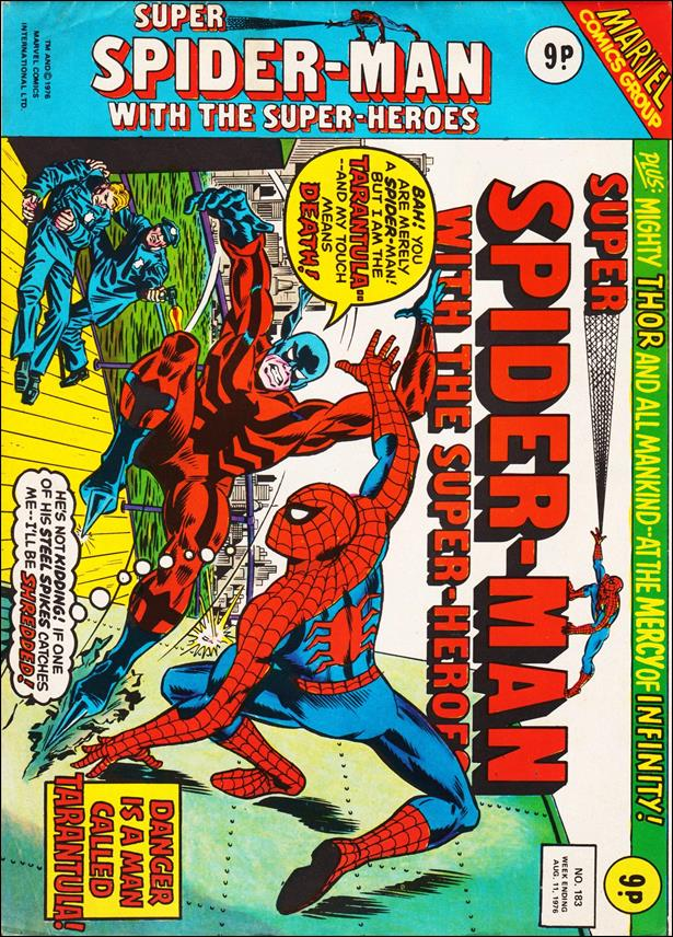 Spider-Man: Comics Weekly (UK) 183-A by Marvel UK