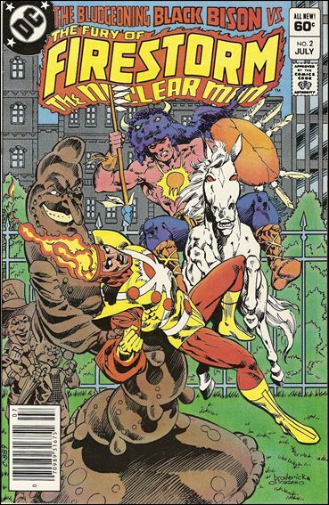 Fury of Firestorm 2-A by DC
