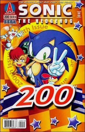 Sonic the Hedgehog (1993) 200-A