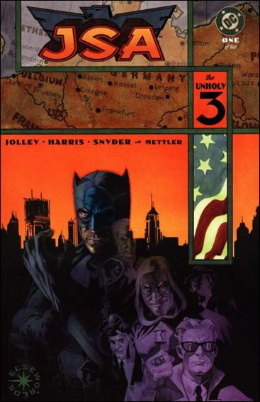 JSA: The Unholy Three 1-A by DC