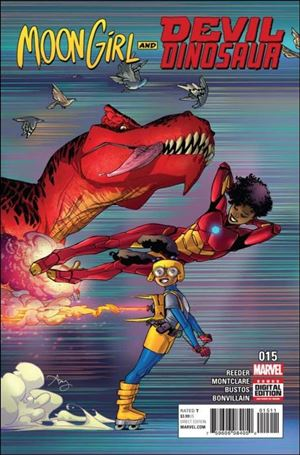 Moon Girl and Devil Dinosaur 15-A