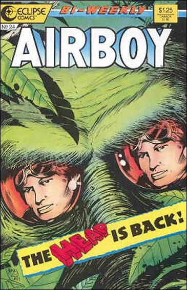 Airboy (1986) 24-A by Eclipse