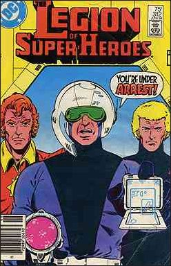 Legion of Super-Heroes (1980) 312-A by DC