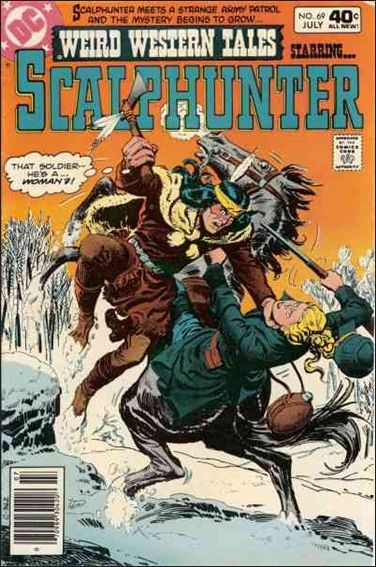 Weird Western Tales (1972) 69-A by DC
