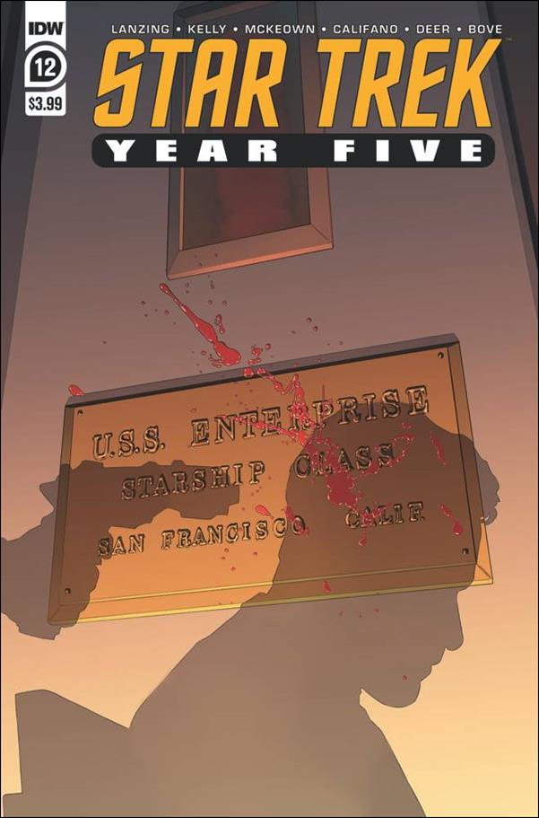 Star Trek: Year Five 12-A by IDW