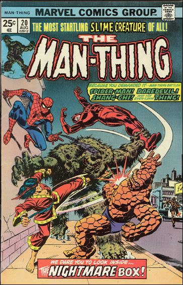 Man-Thing (1974) 20-A by Marvel