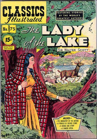 Classic Comics/Classics Illustrated 75-C by Gilberton