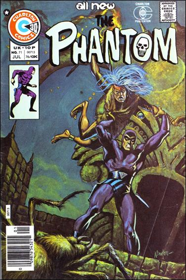 Phantom (1962) 71-A by Gold Key