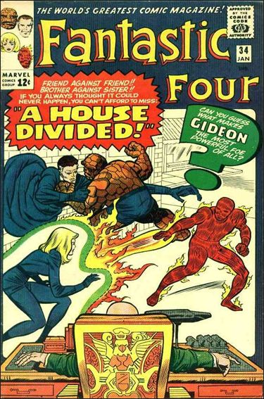 Fantastic Four (1961) 34-A by Marvel