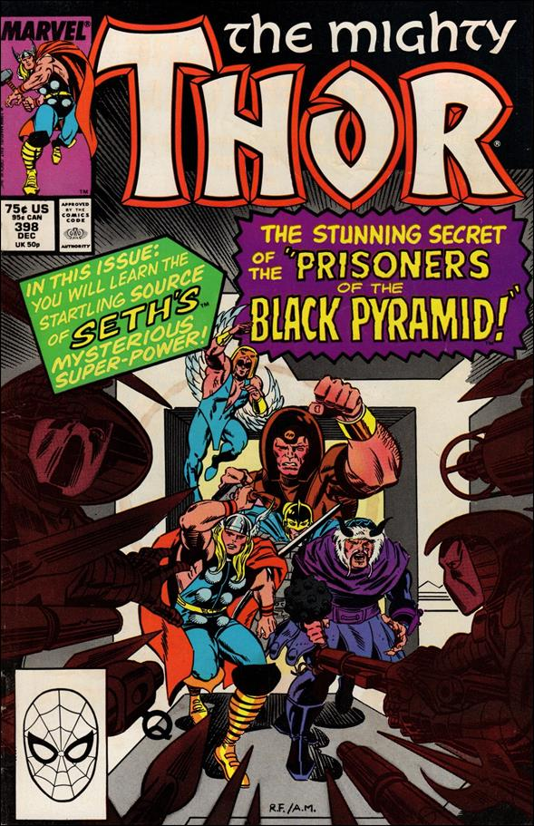 Thor (1966) 398-A by Marvel