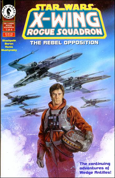 Star Wars: X-Wing Rogue Squadron 1-A by Dark Horse