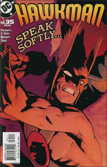 Hawkman (2002) 35-A by DC