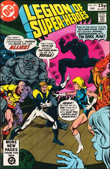 Legion of Super-Heroes (1980) 271-B by DC