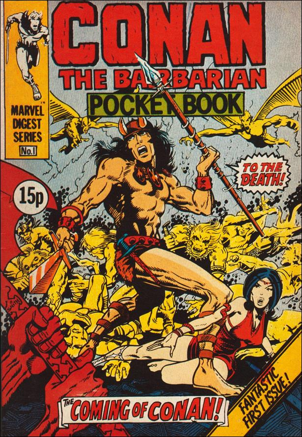 Conan Pocket Book (UK) 1-A by Marvel UK