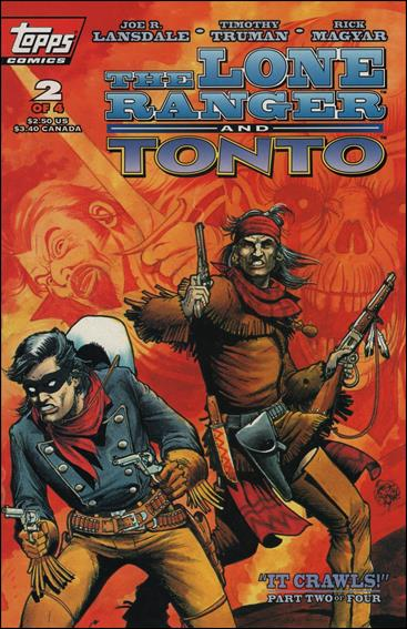 Lone Ranger and Tonto 2-A by Topps