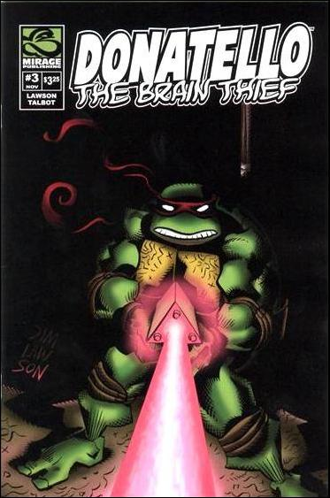 Donatello: The Brain Thief 3-A by Mirage