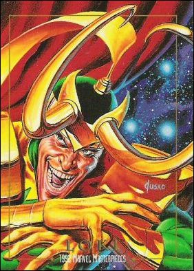 1992 Marvel Masterpieces (Base Set) 50-A by SkyBox