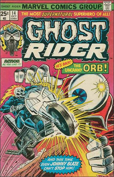 Ghost Rider (1973) 14-A by Marvel