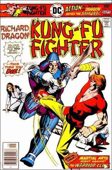 Richard Dragon, Kung-Fu Fighter 11-A by DC