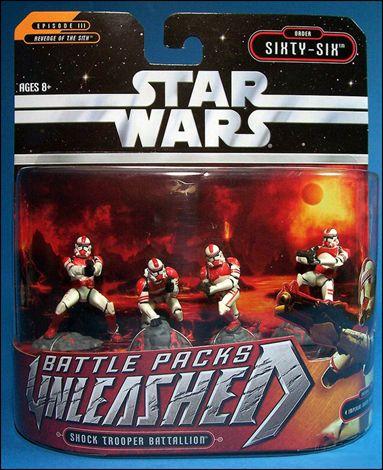 Star Wars Shock Trooper Battallion 0 rder 66 Action Figures Pack combat Unleashed