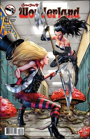 Grimm Fairy Tales Presents: Wonderland 18-B